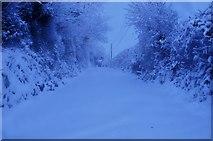 SS9412 : Mid Devon : Baker's Hill by Lewis Clarke