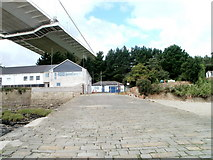 ST5590 : View up the slipway, Beachley by Jaggery