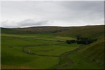 SD8970 : Darnbrook House and Darnbrook Fell, from Flask by Christopher Hilton