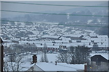 SS9612 : Tiverton : Snowy Town View by Lewis Clarke
