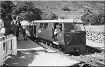 NY1700 : Diesel loco at Dalegarth Station by Jim Barton