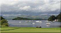 NS3689 : Loch Lomond Golf Club by John Fielding