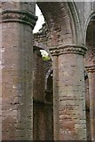SE2768 : Fountains Abbey: nave columns by Christopher Hilton