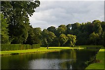SE2768 : The river flowing through gardens, Studley Royal by Christopher Hilton