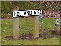 TM3473 : Holland Rise Sign by Adrian Cable