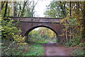 TQ5036 : Bridge over the Forest Way by N Chadwick