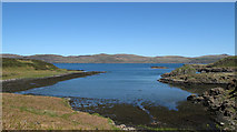 NM3841 : Inlet of Loch Tuath north-east of Am Bru by Trevor Littlewood