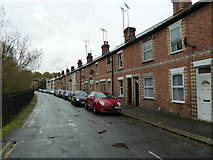 SU7172 : Terraced houses in Brook Street West by Basher Eyre