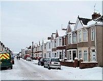 ST3186 : South side of Milman Street, Newport by Jaggery