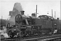 TQ2182 : An LMS Fowler 3P 2-6-2T at Willesden Locomotive Depot by Ben Brooksbank