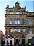 NZ2564 : Moor's Building, Pilgrim Street by Andrew Curtis