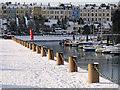 J5081 : Frozen Bangor Marina by Rossographer