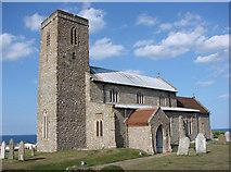 TG1743 : Beeston Regis All Saints church by Adrian S Pye