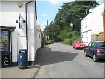 TM2850 : Saddlemakers Lane to the west of The Street by Basher Eyre