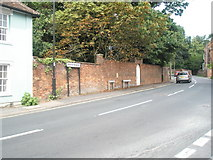 TM2850 : Boundary of The Street and yarmouth Road by Basher Eyre