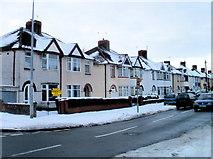 ST3186 : Newport : Mendalgief Road houses north of Docks Way by Jaggery