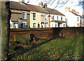 TG5204 : Terraced cottages in Church Road, Gorleston by Evelyn Simak