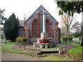 TG5104 : War memorial in Gorleston cemetery by Evelyn Simak