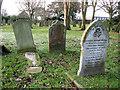 TG5104 : Gorleston cemetery in December by Evelyn Simak