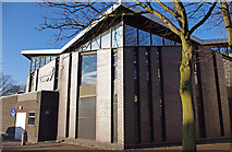 SD4364 : Morecambe Library by Ian Taylor