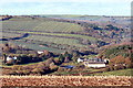 SW8247 : River Allen valley from Penmount by Fred James
