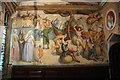 SK9771 : St.Blaise Chapel mural by Richard Croft