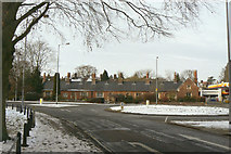 TL4457 : Perse Almshouses by Alan Murray-Rust