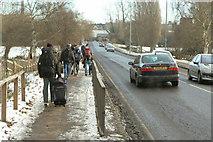 TL4457 : Fen Causeway by Alan Murray-Rust
