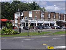 TQ2258 : Shops on Great Tattenhams, Epsom Downs by David Howard