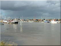 TM5075 : River Blyth at Southwold by John Goldsmith
