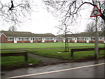 TM1179 : Housing in Park Road (A1066), Diss by Evelyn Simak