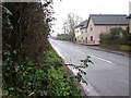 TM2179 : Cottages in The Street, Brockdish by Evelyn Simak