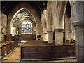 SJ4474 : St Mary's Church, Thornton-le-Moors, interior by John Lord