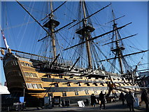 SU6200 : Portsmouth - HMS Victory by Chris Talbot