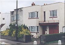 ST3261 : Art Deco houses, Station Road, Weston-Super-Mare by Alan Cooper
