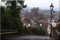 TQ4210 : View From Chapel Hill, Lewes, Sussex by Peter Trimming