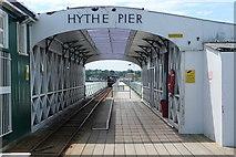 SU4208 : Hythe Pier by Graham Horn