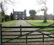 TM0993 : Bury's Hall, Carleton Rode by Evelyn Simak