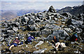 NG7906 : The summit of Beinn na Caillich by Walter Baxter