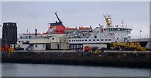 NS2975 : MV Isle of Mull at Greenock by Thomas Nugent