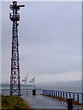 NS2975 : Dockside signal post by Thomas Nugent