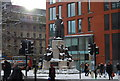 SJ8498 : Statue of Wellington, Piccadilly Gardens by N Chadwick