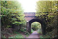 TQ4434 : Bridge over Forest Way by N Chadwick