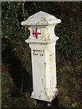 TQ2258 : Coal Tax Post, Tattenham Corner by Colin Smith