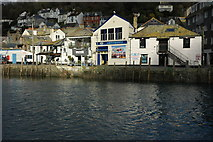 SX2553 : Harbour front, Looe by Philip Halling