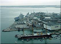 SU6200 : Portsmouth Historic Dockyard by Roger  Kidd