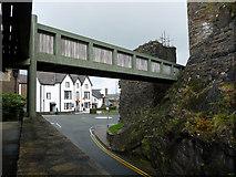 SH7877 : Footbridge over Llanrwst Road, Conwy by Phil Champion