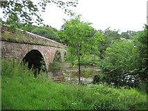 NY5046 : The Bridge on the River Eden, Armathwaite, Cumbria by John Fielding