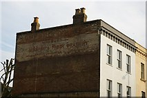 "TQ3370 : Upper Norwood: ""ghost-sign"" on Westow Street by Christopher Hilton"