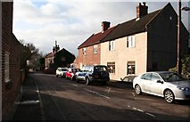 SK7288 : Clayworth Village near the Church by roger geach